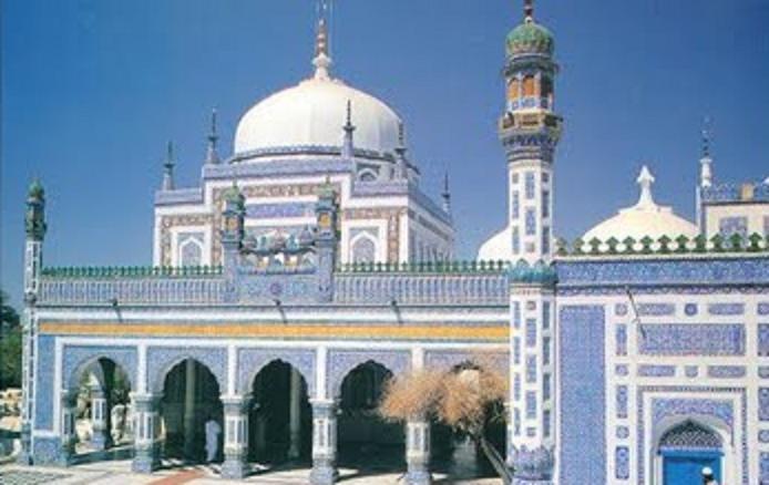 Shah Abdul Latif Bhittai Main shrines of Sindh pictures DaerTube